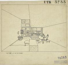 Fondation Le Corbusier - Projets - Unités d'habitation transitoires