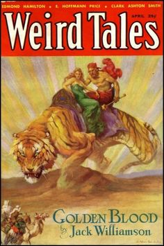 Weird Tales April 1933