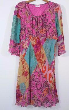 AVENUE Womens Size Plus 1X Floral  Print Casual Dress  EUC #Avenue #BeachDressFitsjustbelowtheknee #SummerBeach