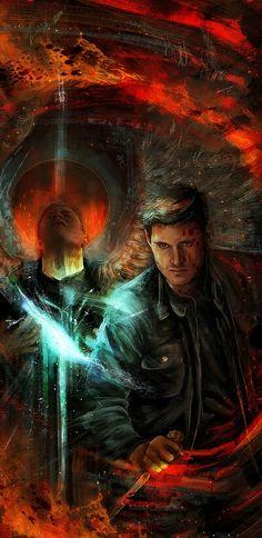Dean Killing an Angel