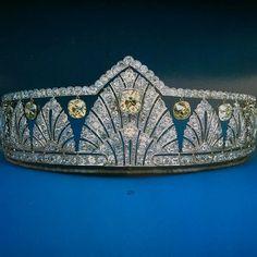 Princess Alice's Diamond Palmette Tiara | The Royal Watcher