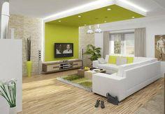 . Living Room Sofa Design, Living Room Tv, Living Room Designs, Elegant Living Room, Living Room Modern, Home And Living, Yellow Walls Living Room, Decoration, Furniture