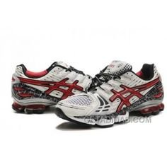 bb6601a26 Asics Gel-Kinsei 2 Mens White Red Black Lastest