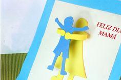 Resultado de imagen de tarjetas infantiles para el dia de la madre faciles Preschool, Google, Happy, One Day, Hacks, Hipster Stuff, Manualidades, Mothers, Nursery Rhymes