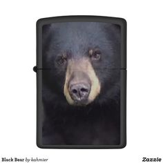 Black Bear Zippo Lighter took picture in back yard