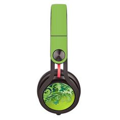 Floral Pattern Skin decal for Monster Beats Mixr by Dr. Dre headphones - Decal Design