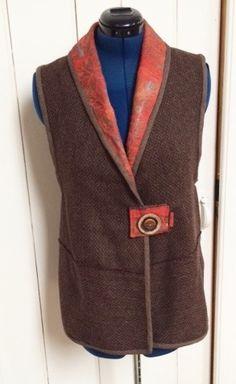 Diane Ericson Design. Cacicedo design coat | vest