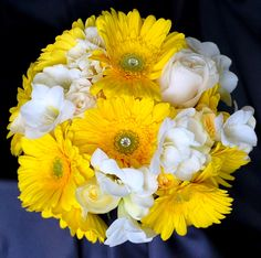 My bouquet! Except I would love the white ones to be orange  #dawninvitescontest