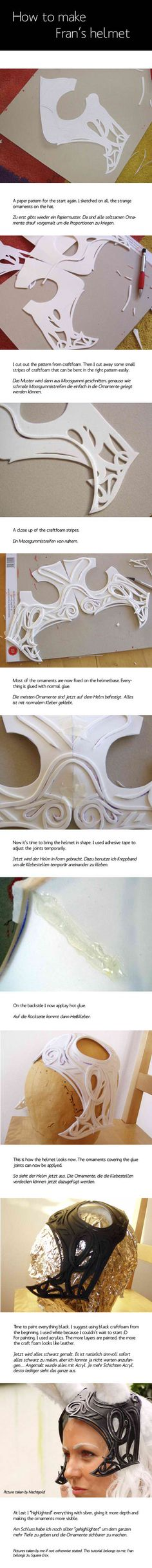Craft foam armor: how to make it yourself