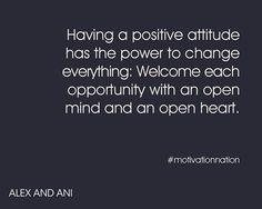 Positive attitude #alexandani
