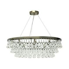 Celeste 10 Light Chandelier. Available in many colors.