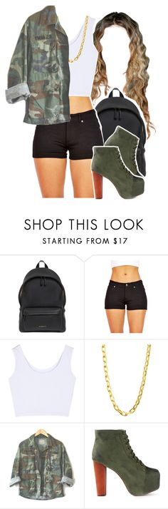 """""""Without You"""" by queen-tiller ❤ liked on Polyvore featuring Givenchy, Luv Aj and Jeffrey Campbell"""