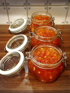 Chutney, Food N, Food And Drink, Vegetarian Cooking, Cooking Recipes, Homemade Sweets, Swedish Recipes, Healthy Eating, Tasty