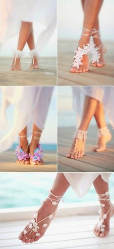 27 Absolutely Gorgeous Shoes For Beach Weddings! - Praise Wedding - 13 Absolutely Gorgeous Shoes For Beach Weddings! 13 Absolutely Gorgeous Shoes For Beach Weddings! Beach Wedding Shoes, Beach Shoes, Bridal Shoes, Beach Feet, Dresses For Beach Wedding, Destination Wedding Dresses, Beach Dresses, Wedding Destinations, Hawaii Beach Weddings