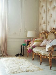luxury french vintage gorgeous living room