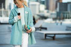 Shades of blue - New Zealand Fashion Week Fall 2015