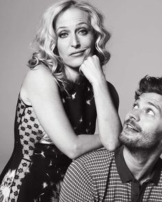 """Team Jamie Dornan Brasil on Instagram: """"Esses dois são maravilhosos! Novo/Antigo outtake  do Jamie e Gillian para a promo de #TheFall  #JamieDornan #gilliananderson #paulspector"""""""