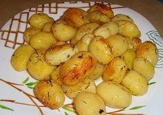 картофель, запеченный в духовке в пакете с соусом