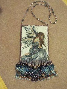 My first amulet bag. Made by Lauretta Allen.