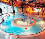 Meadow Park Sports Centre in Whistler.  Pool, Ice rink and more for family fun.  $24 all day for a family.
