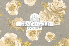 """Gray and Gold digital paper 12 gray and gold digital paper pack: """"GRAY & GOLD"""" with gray and gold background, gray scrapbook paper, gray textures, gray Grey And Gold, Gray, Paper Clip Art, Gold Background, Rose Lace, Gold Wood, Rice Paper, Scrapbook Paper, Birthday Cards"""