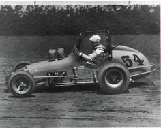VINTAGE 1970 USAC #54 SPRINT CAR -- all original ! this is what my daddy drove...so awesome