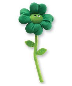 Four-Leaf Clover Bendable Plush Toy by GUND #zulily #zulilyfinds