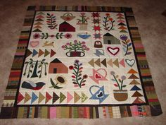 Life of Plenty quilt posted by Julie Winkler on facebook. Pattern is free, from the blog of Jeni from the Willows.