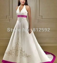 wedding dresses with color embroidery | ... wedding-dress-classic-bridal-gown業者の安価なbeautiful-wedding