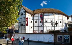 Located on the bank of the River Thames in London, we perform world renowned productions of Shakespeare, guided tours and life changing workshops and courses, in the Globe Theatre every day. The Globe London, River Thames, West End, Tour Guide, Play Houses, Shakespeare, London England, Tours, Globe Theatre