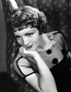 Claudette Colbert --- she always had awesome makeup & clothes