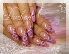 flowers again by Darhon from Nail Art Gallery