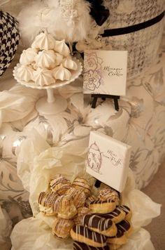 Marie Antoinette type wedding decor