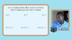 How to Teach Building Fluency with 3's | My Learning Block