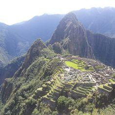 """In the 15th century, the Incan Emperor Pachacútec built a city in the clouds on the mountain known as Machu Picchu (""""old mountain""""). This extraordinary settlement lies halfway up the Andes Plateau, deep in the Amazon jungle and above the Urubamba River. It was probably abandoned by the Incas because of a smallpox outbreak and, after the Spanish defeated the Incan Empire, the city remained 'lost' for over three centuries. It was rediscovered by Hiram Bingham in 1911."""