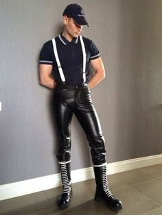 Mens Leather Pants, Leather Skin, Leather Boots, Black Leather, Men Boots, Biker Leather, Skinhead Men, Skinhead Boots, Leather Fashion