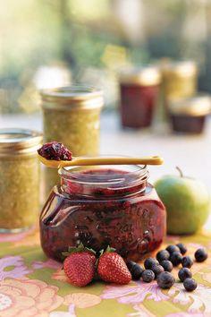 Jam Recipes: Double Berry Freezer Jam