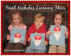 Celebrating Saint Nicholas Day! Books to read, crafts to make...teach your children about the REAL Saint Nick!