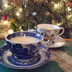 Teacup candles || #20