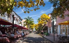 Espanola Way Miami Beach Florida - Spanish Village South Beach