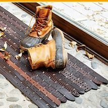 Hometalk :: Do you have an old leather belt that has seen better days? Give that s…