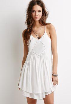 Crochet Mini Dress   Forever 21 - 2052288554