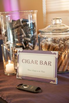 Cigar Bar - my fiancé would love that for sure!