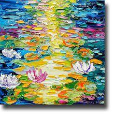 /waterlilies-painting-original-oil