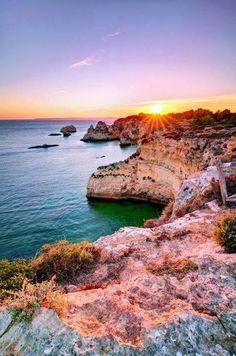 O pôr do sol em Alvor #Alvor #Algarve #Portugal #Travel
