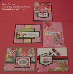 Stampmemories with Debbi: Brushed Papers
