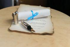 #handmade #papyrus #wedding invitation #diy #handmade #weddingdecoration #babyblue Paper Flowers, Wedding Decorations, Wedding Invitations, Handmade, Diy, Design, Hand Made, Bricolage