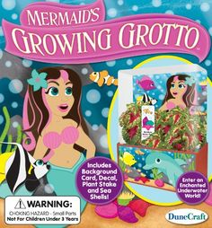 DuneCraft Mermaid's Growing Grotto ** Click here for more details @