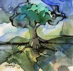 ARTFINDER: Tree No. 1 by Kathy  Morton Stanion