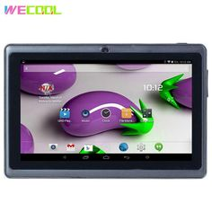 Kids Tablet, Big Battery, Screen Film, Music Online, Audio Player, Built In Speakers, Multi Touch, Quad, Korea